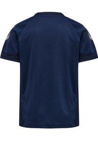 Hummel - Print T-shirt - marine - 2