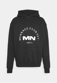 Mennace - CLUB HOODIE UNISEX - Sweatshirt - black - 0