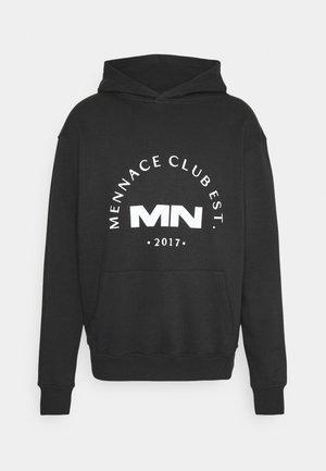 CLUB HOODIE UNISEX - Sweatshirts - black