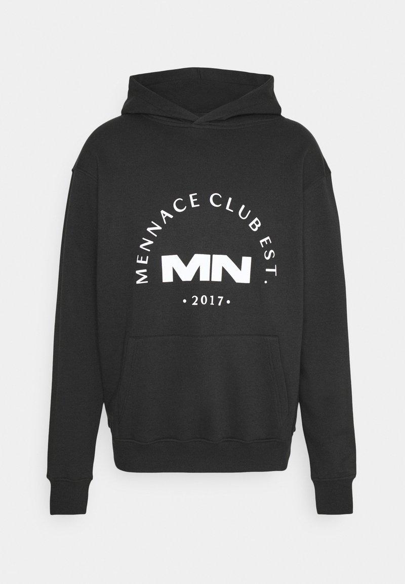 Mennace - CLUB HOODIE UNISEX - Sweatshirt - black