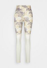 Hummel - LOTUS HIGH WAIST - Leggings - bone white - 4