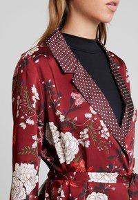 ONLY - ONLELAINE LOOSE - Short coat - merlot - 4
