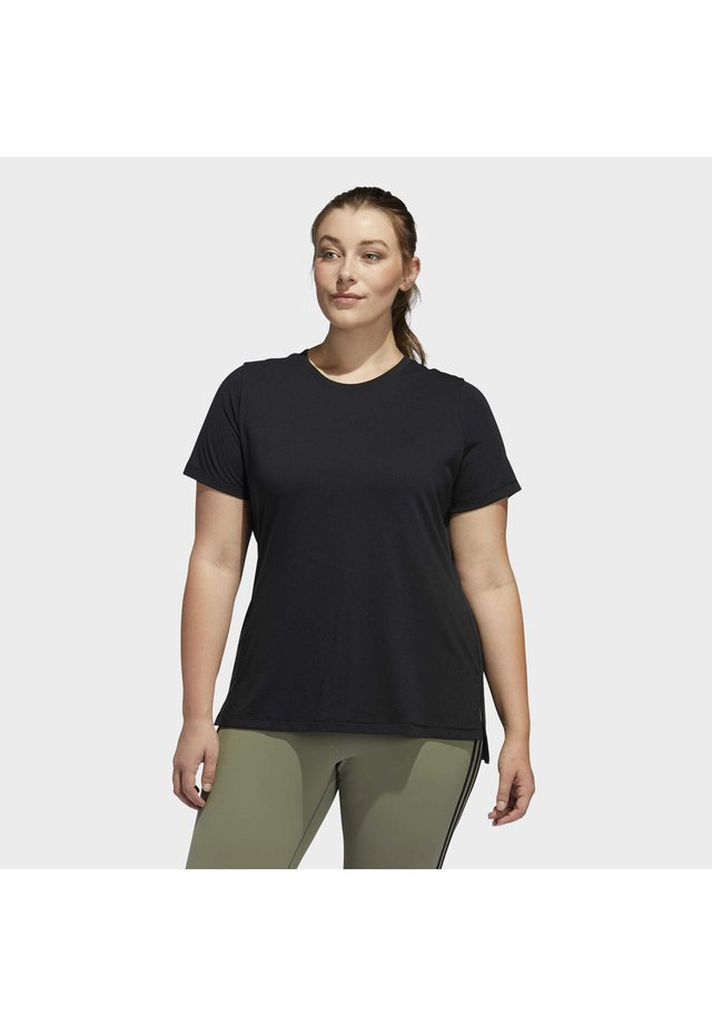 GO TO T-SHIRT - T-shirt con stampa - black