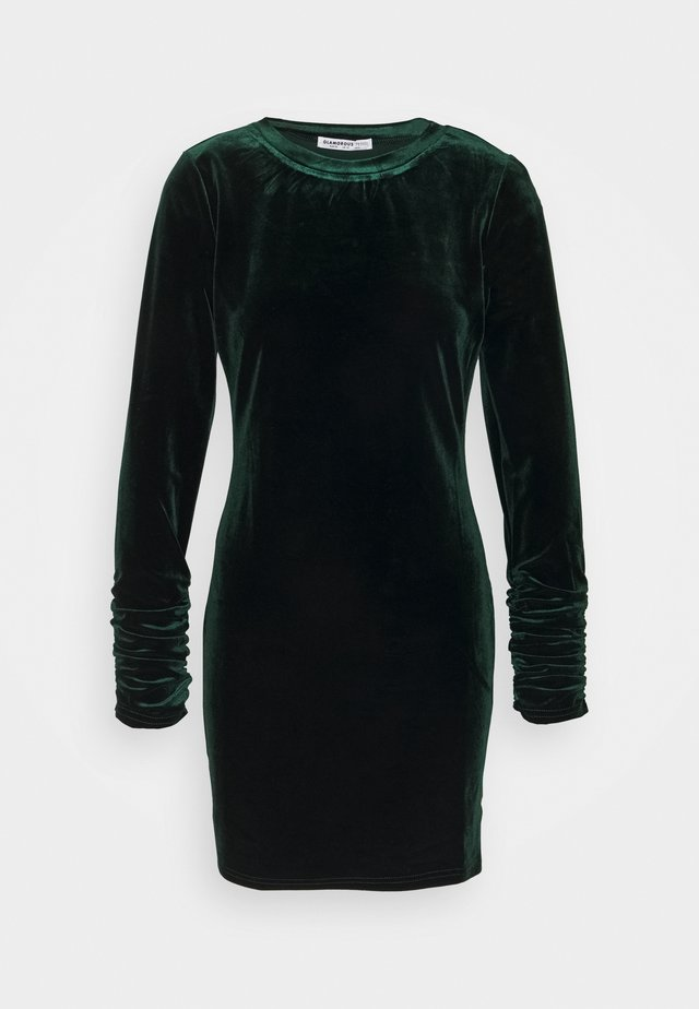 LONG SLEEVE DRESS - Vapaa-ajan mekko - deep green
