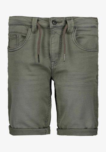Denim shorts - gargoyle
