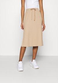 Fashion Union - BRYONY  - Pouzdrová sukně - beige - 0