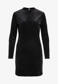 Vila - MIT LANGEN ÄRMELN GEPUNKTETES - Vestito elegante - black - 4