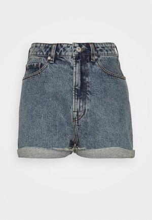 ANGIE WASH BRIGHTON - Denim shorts - denim blue