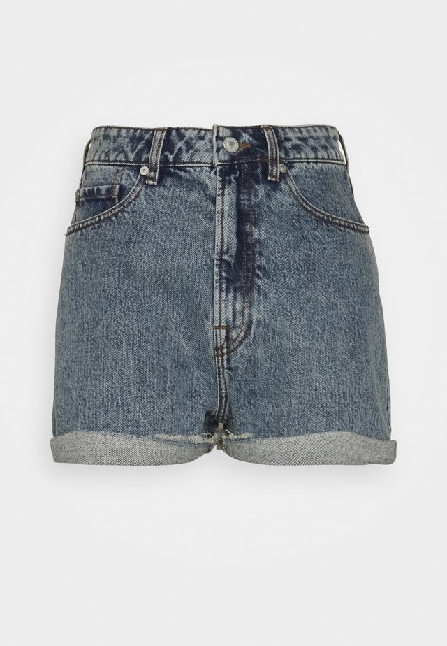 ANGIE WASH BRIGHTON - Shorts di jeans - denim blue