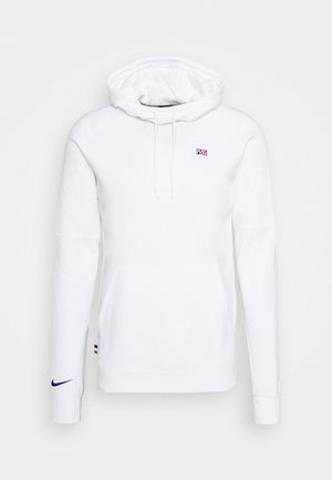 PARIS ST GERMAIN HOOD - Club wear - white/old royal