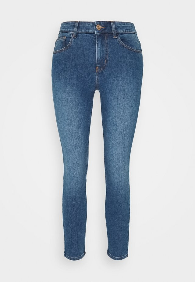 PCPEGGY - Jeans Skinny Fit - medium blue denim