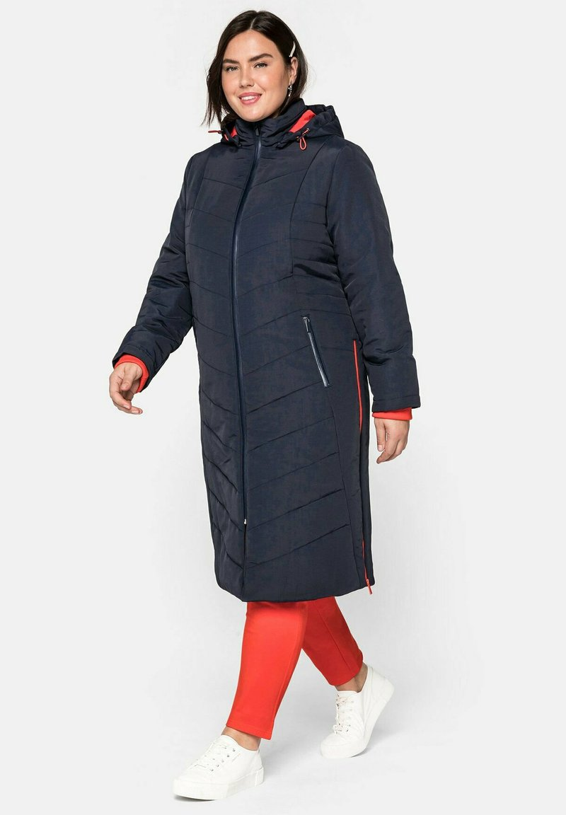 Sheego - Cappotto invernale - nachtblau