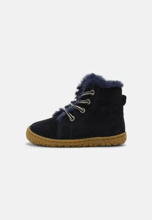 NOLA BAREFOOT UNISEX - Lace-up ankle boots - navy