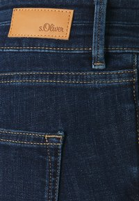 s.Oliver - Denim shorts - dark blue denim - 2