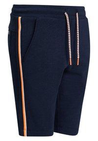 WE Fashion - MET TAPEDETAIL - Shorts - dark blue - 4