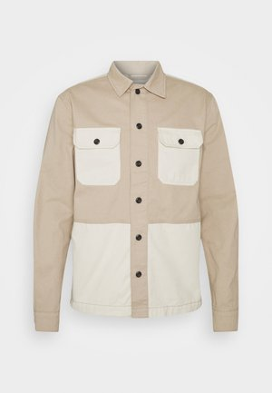 JCOBEN BLOCKING WORKER - Camisa - pure cashmere