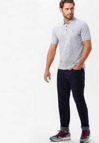 BRAX - STYLE PETE - Polo shirt - platinum - 1
