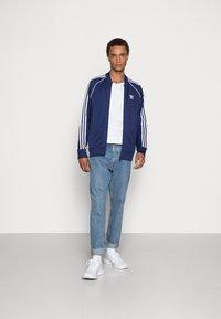 adidas Originals - Training jacket - night sky/white - 1