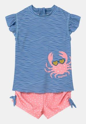 UV-SCHUTZ SET - Plavky - blau/pink