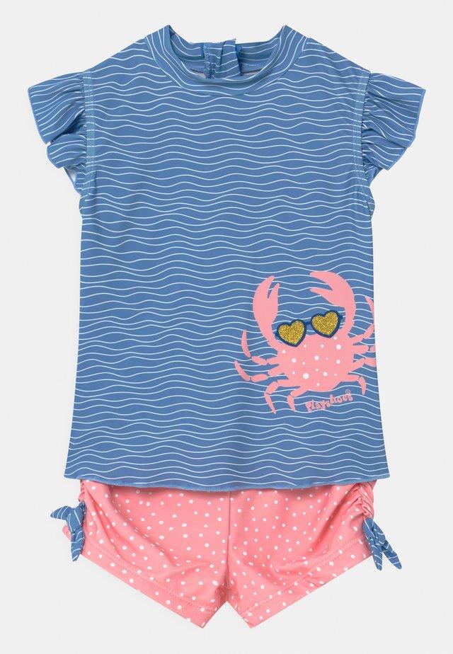 UV-SCHUTZ SET - Costume da bagno - blau/pink