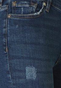 7 for all mankind - SKINNY CROP - Jeans Skinny Fit - dark blue - 2