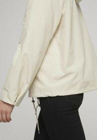 TOM TAILOR DENIM - Summer jacket - light beige - 4