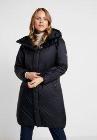 Cross Sportswear - HIGHLOFT COAT - Płaszcz zimowy - navy - 0