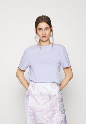 SFMY PERFECT TEE BOX CUT COLOR - Basic T-shirt - xenon blue