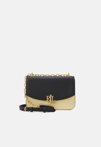 MADISON - Across body bag - antique gold-coloured/black