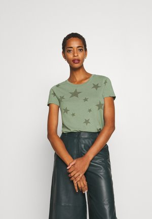 FAV CREW - T-shirt con stampa - olive