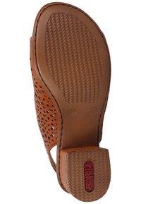 Rieker - Ankle cuff sandals - cayenne - 4