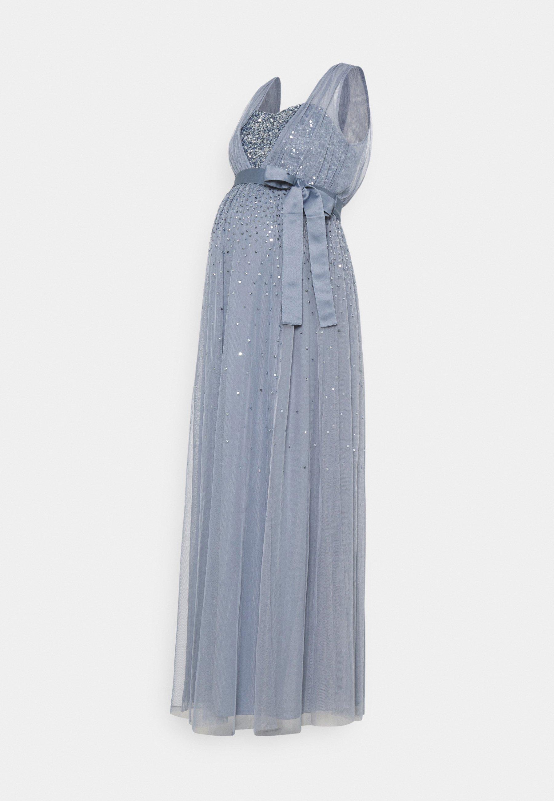 Women OVERLAY BODICE EMBELLISHED DRESS - Occasion wear