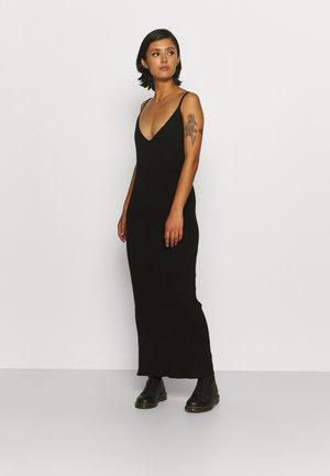 THIN STRAP DRESS - Jumper dress - black