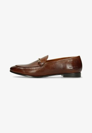 SCARLETT - Slip-ons - pisa wood/flex brown