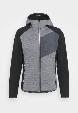 DANFORT - Soft shell jacket - black