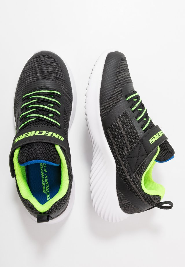 BOUNDER - Sneakers laag - black/blue/lime