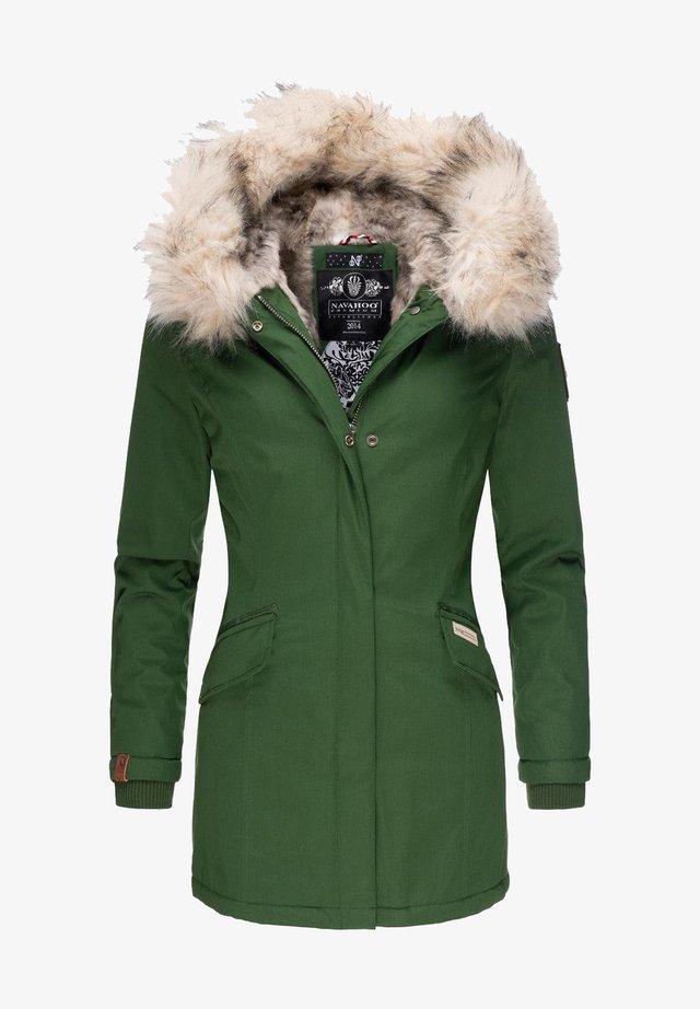CRISTAL - Winter coat - green