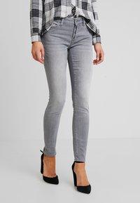 Mavi - ADRIANA - Jeans Skinny Fit - grey sporty - 0
