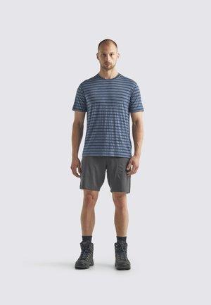 Print T-shirt - serene blue