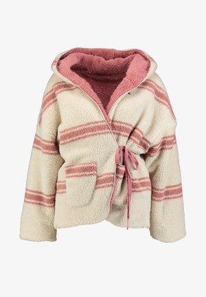 GUMS - Winter jacket - stone rose