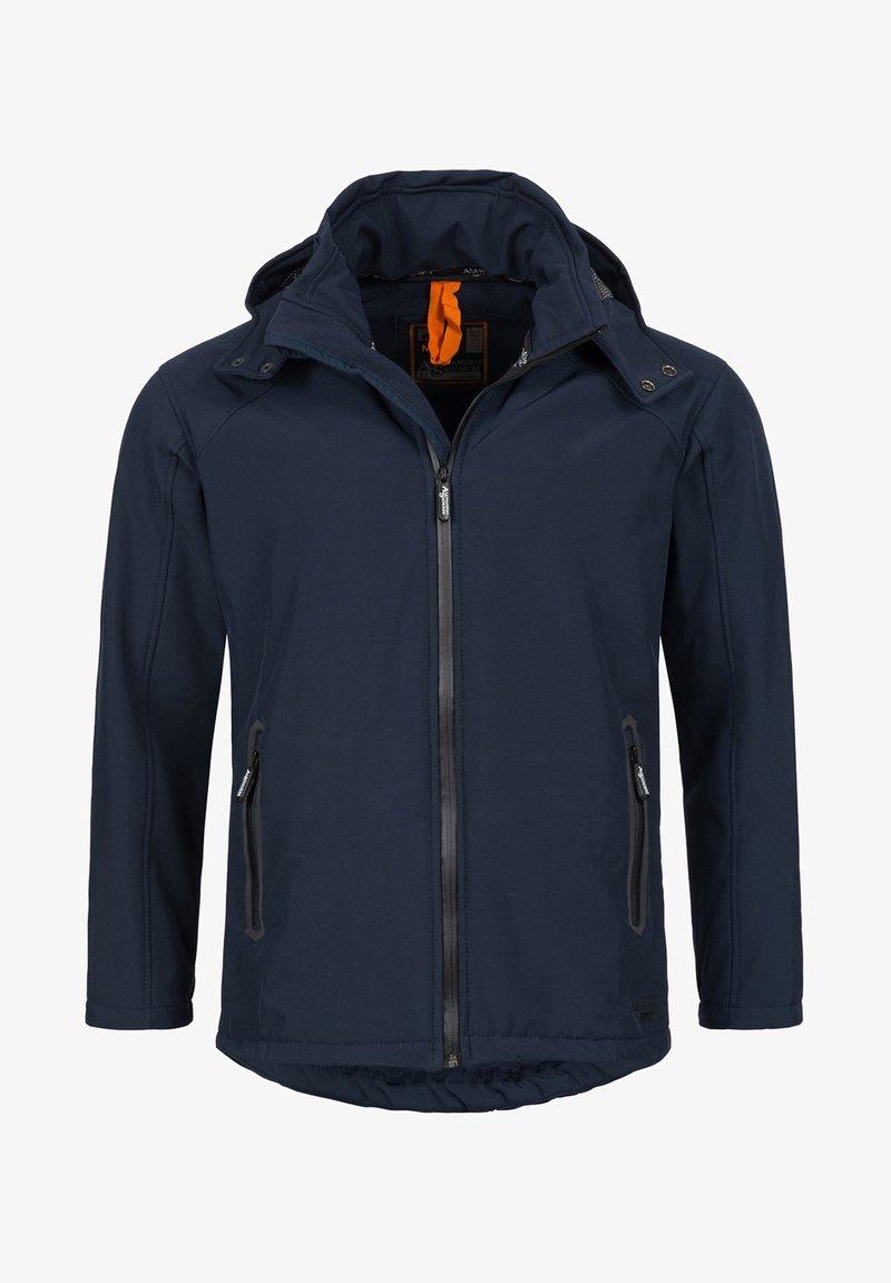 Alessandro Salvarini - Soft shell jacket - navy