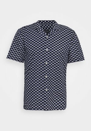 RECTANGLE GEO - Shirt - dark blue multi