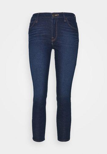 SCARLETT CROPPED - Jeans Skinny Fit - dark clement