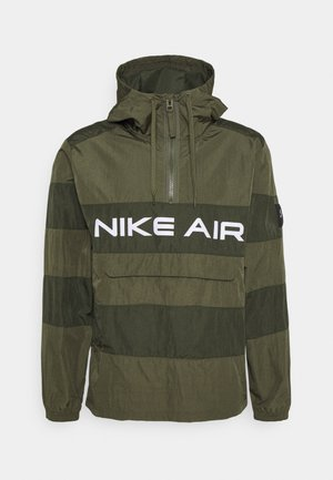 AIR ANORAK - Windbreaker - medium olive/cargo khaki/(white)