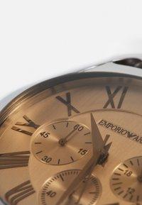 Emporio Armani - Hodinky se stopkami - brown - 3