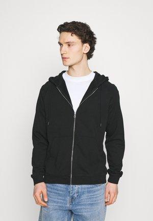 FREELEVEN ZIP FLEECE - Zip-up hoodie - black