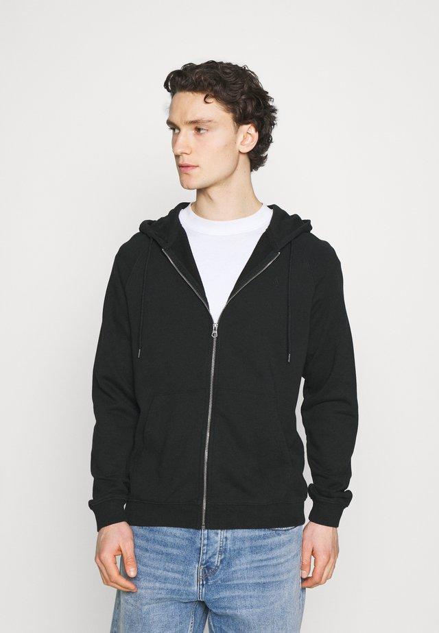 FREELEVEN ZIP  - veste en sweat zippée - black