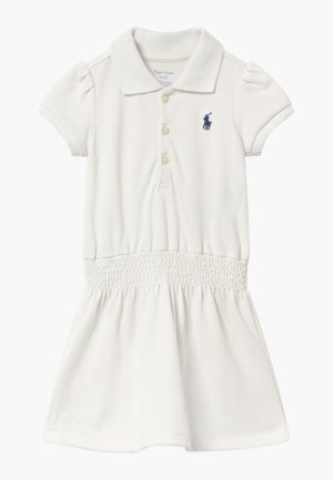 SMOCK - Day dress - deckwash white