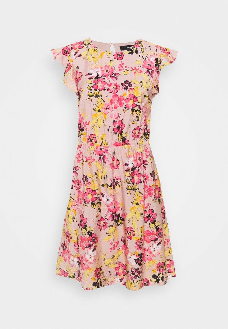 Vero Moda Tall - VMGIGI SHORT DRESS  - Sukienka letnia - sepia