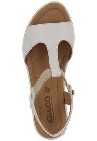 IGI&CO - Wedge sandals - white - 1